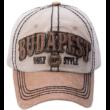 Férfi baseball sapka Budapest feliratos Vencel-A