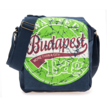 Férfi oldaltáska Budapest feliratos Béla-C