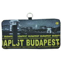 Pénztárca Budapest feliratos és fényképes Károly-D