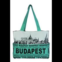 Női táska Budapest feliratos és fényképes Emese-I