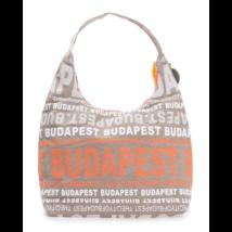 Női táska Budapest feliratos Sára-F