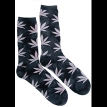 Férfi zokni cannabis mintás Pál-H