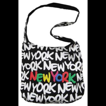 Női táska New York feliratos Eva L-NY-X