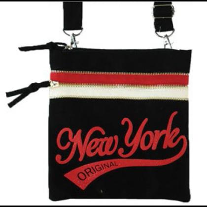 Női útlevél táska New York feliratos John NY-G