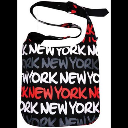 Oldaltáska női New York feliratos Louise L-NY-Q
