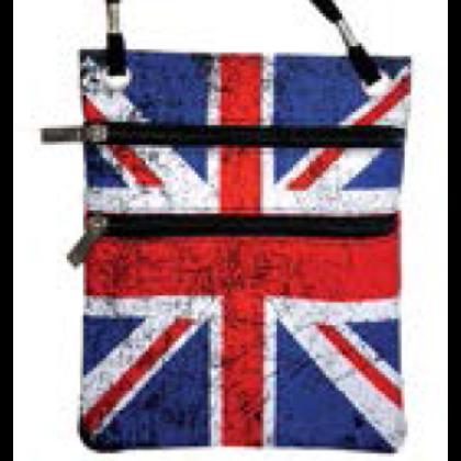 Unisex útlevél táska Union Jack mintás Charlie Vintage U-E