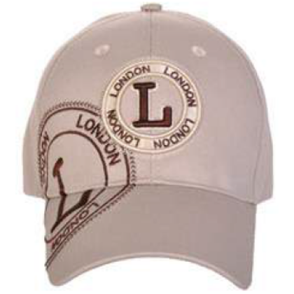 Férfi baseball sapka London feliratos Jim L-A Stamp Brown