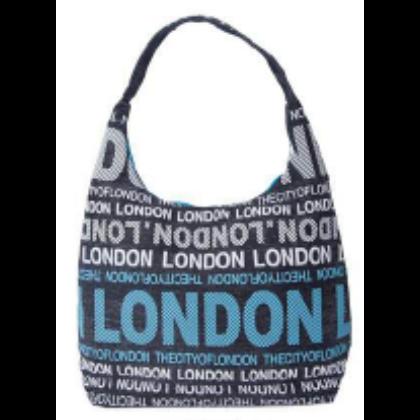 Női táska London feliratos Julia L-L-B
