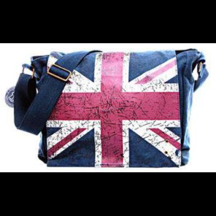 Férfi táska Union Jack mintás Alex L-U-B