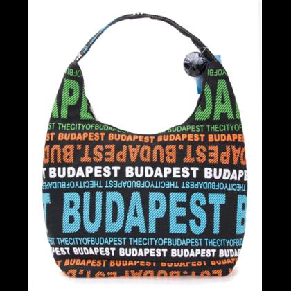 Válltáska női Budapest feliratos Sára-M