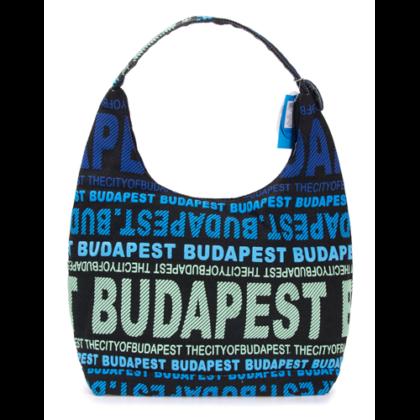 Válltáska női Budapest feliratos Sára-A