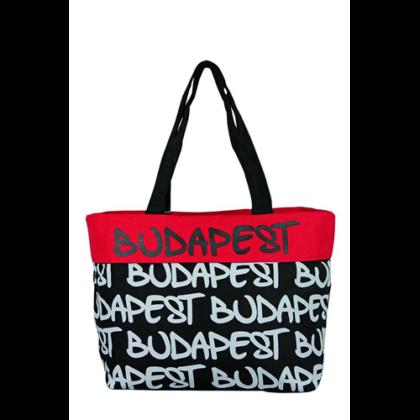 Női táska Budapest feliratos Gizella-A
