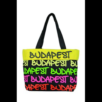 Női táska Budapest feliratos Gizella-B