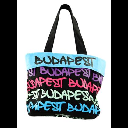 Női táska Budapest feliratos Gizella-C