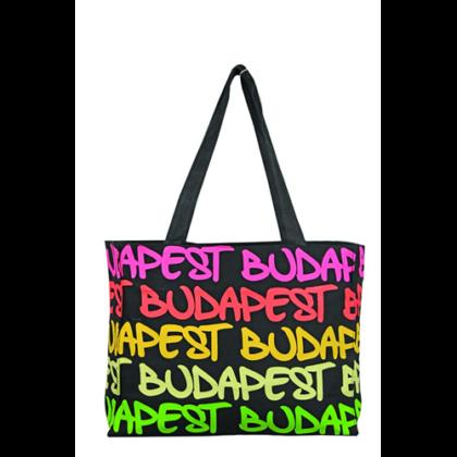 Női táska Budapest feliratos Márta-C