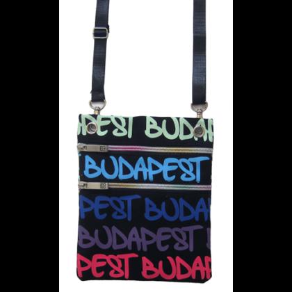 Útlevél táska Budapest feliratos Soma-D