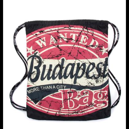 Férfi tornazsák Budapest feliratos János-A