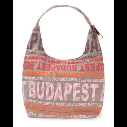 Válltáska női Budapest feliratos Sára-M2