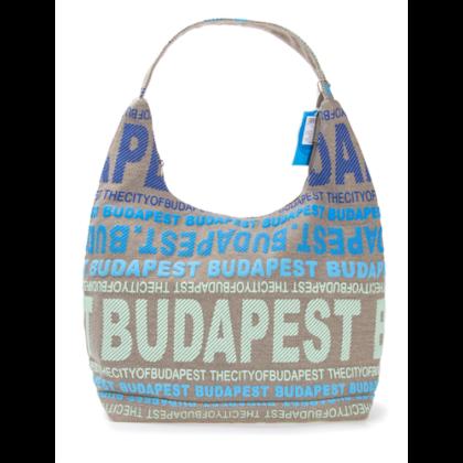 Válltáska női Budapest feliratos Sára-N