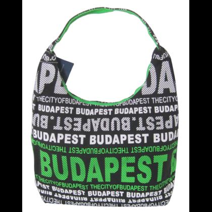 Válltáska női Budapest feliratos Sára-O