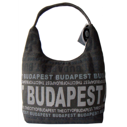 Válltáska női Budapest feliratos Sára-P