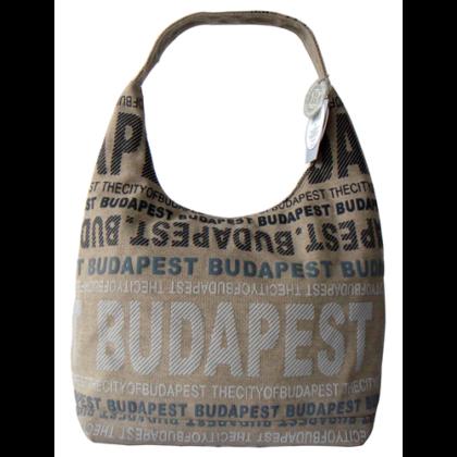 Női táska Budapest feliratos Sára-R