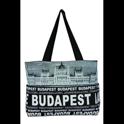 Válltáska női Budapest feliratos és fényképes Emese-E
