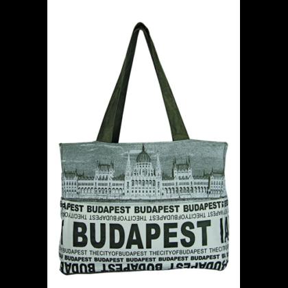 Női táska Budapest feliratos és fényképes Emese-F