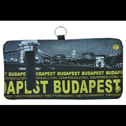 Pénztárca unisex Budapest feliratos és fényképes Károly-D
