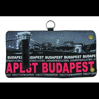 Pénztárca unisex Budapest feliratos és fényképes Károly-G