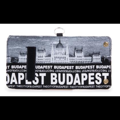Pénztárca unisex Budapest feliratos és fényképes Károly-E