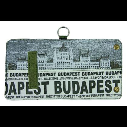Pénztárca unisex Budapest feliratos és fényképes Károly-F