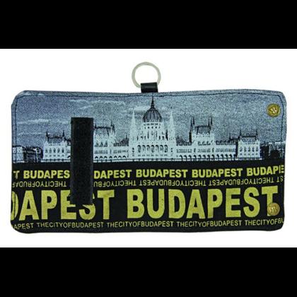 Pénztárca unisex Budapest feliratos és fényképes Károly-H