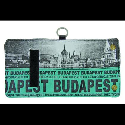 Pénztárca Budapest feliratos és fényképes Károly-J