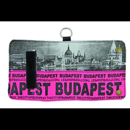 Pénztárca Budapest feliratos és fényképes Károly-I