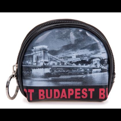 Pénztárca Budapest feliratos és fényképes Lívia-H