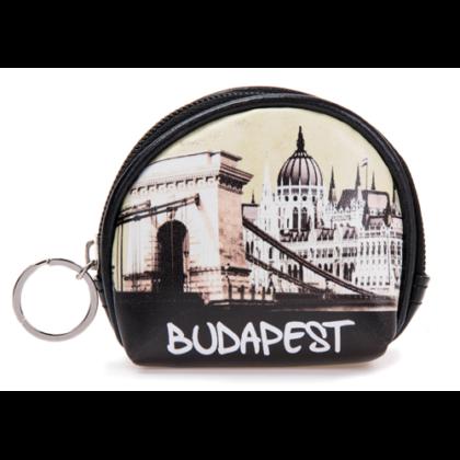 Pénztárca Budapest feliratos és fényképes Lívia-B