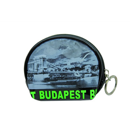 Pénztárca Budapest feliratos és fényképes Lívia-I