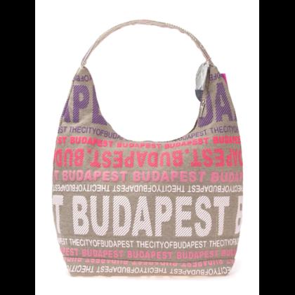 Női táska Budapest feliratos Sára-D