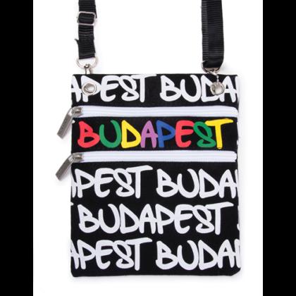 Útlevél táska női Budapest feliratos Soma-E
