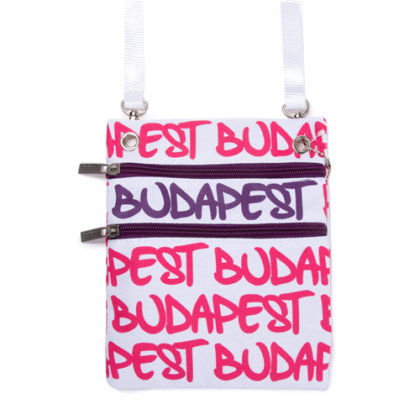 Útlevél táska Budapest feliratos Soma-F