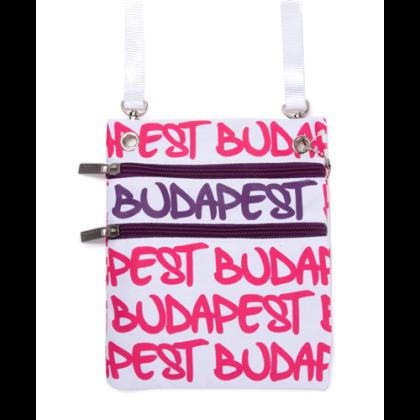Útlevél táska női Budapest feliratos Soma-F