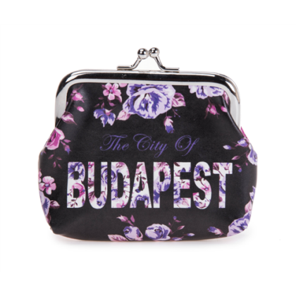 Pénztárca Budapest feliratos Ágota-B