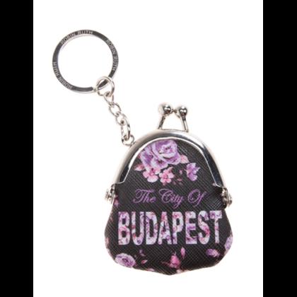 Kulcstartó Budapest feliratos Nelli-A