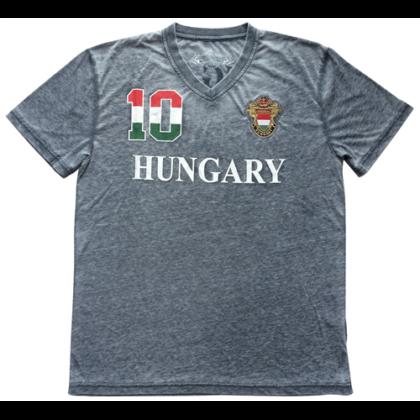 Férfi póló Hungary mintás Zoltán-A