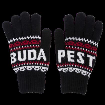 Téli kesztyű unisex Budapest feliratos Ági-A
