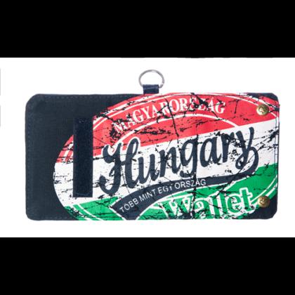 Férfi pénztárca Hungary feliratos Károly-L