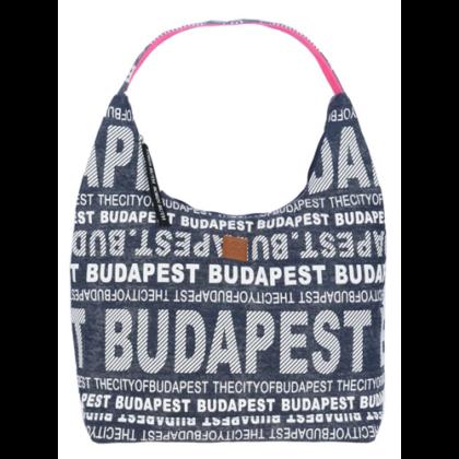 Válltáska női Budapest feliratos Sára-T