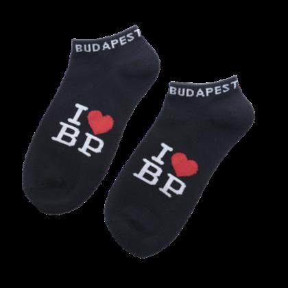 Zokni férfi Budapest feliratos Bálint-C