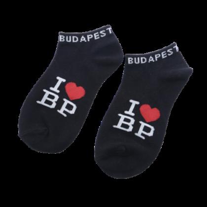 Zokni női Budapest feliratos Brigitta-B